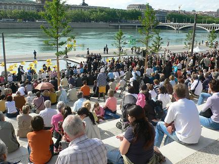 Une opération de sécurisation des berges du Rhône permet trois interpellations